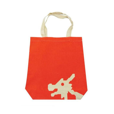 Playground Canvas Bag Local Tote Bags Now&Then Dragon