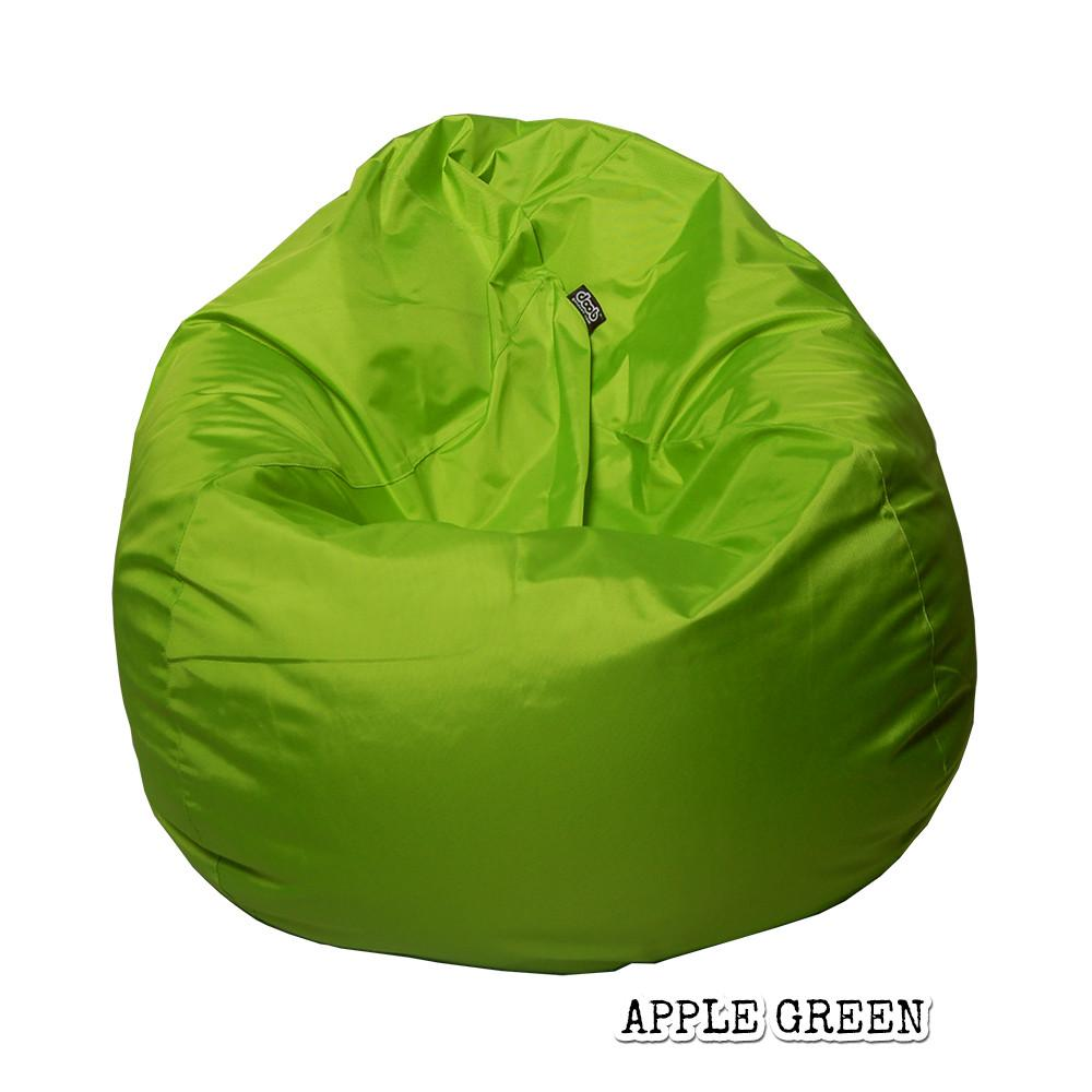 Plop Bean Bag | Medium Bean Bags doob® Apple Green Filled