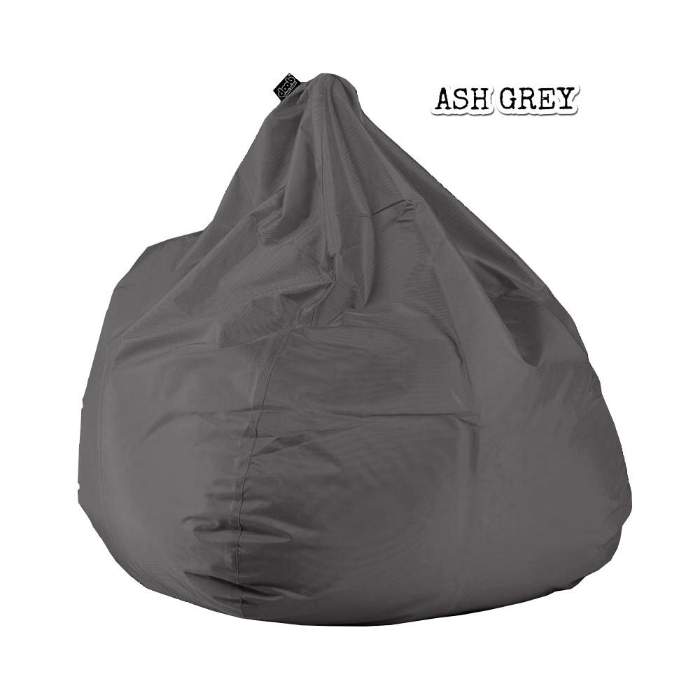 Plop Bean Bag | Medium Bean Bags doob® Ash Grey Filled