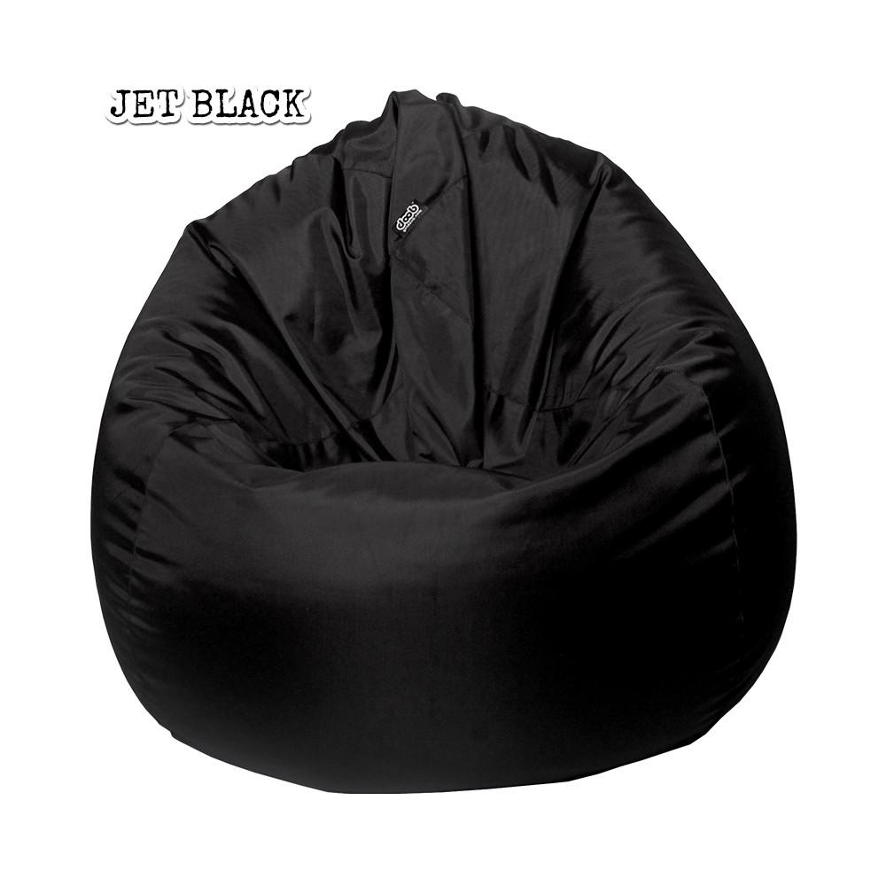 Plop Bean Bag | Medium Bean Bags doob® Jet Black Filled