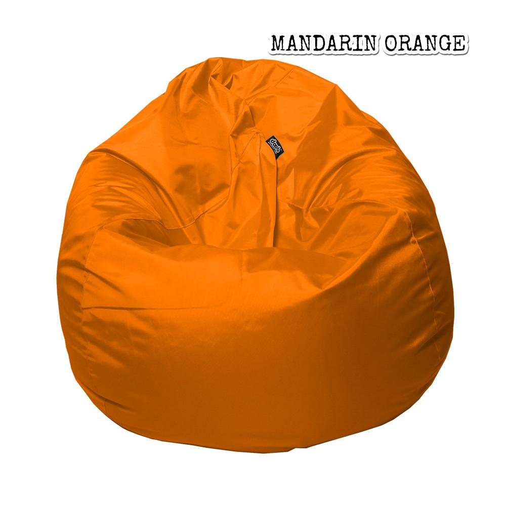 Plop Bean Bag | Medium Bean Bags doob® Mandarin Orange Filled