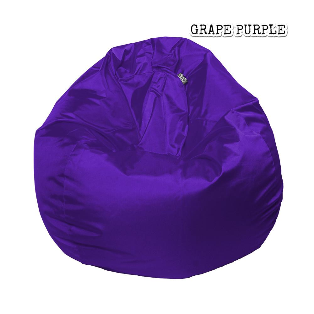 Plop Bean Bag | Small Bean Bags doob® Grape Purple Filled