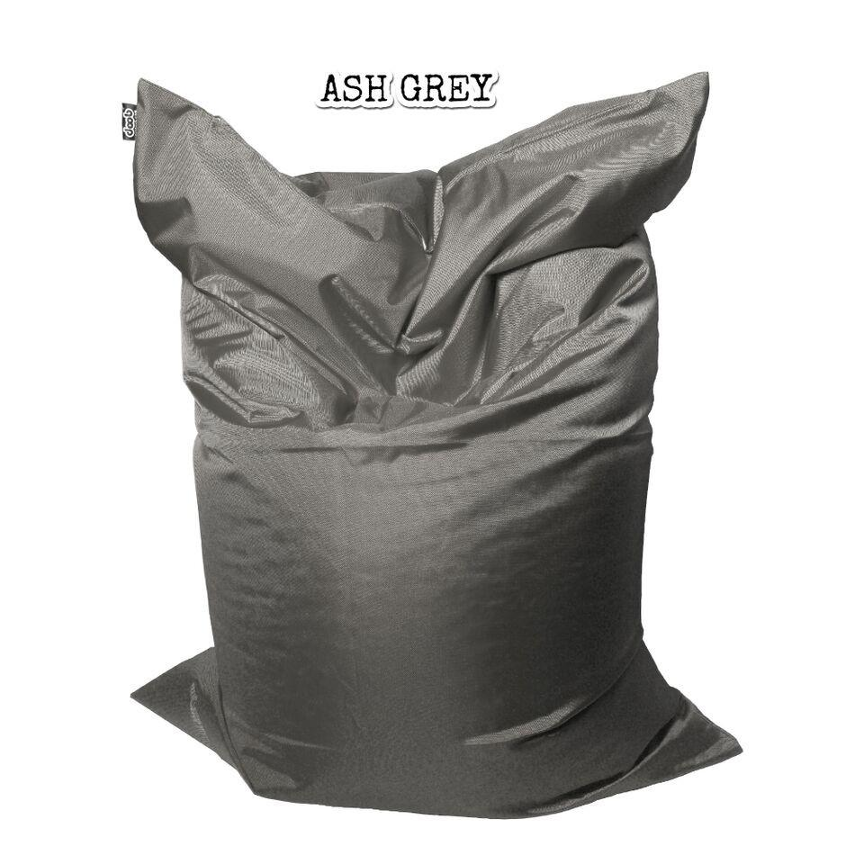 Plopsta' Bean Bag Bean Bags doob® Medium Ash Grey Filled