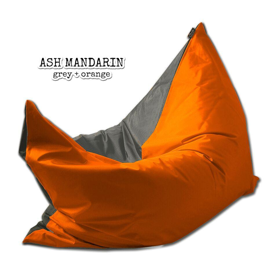 Plopsta' Bean Bag Bean Bags doob® Medium Ash Mandarin Filled