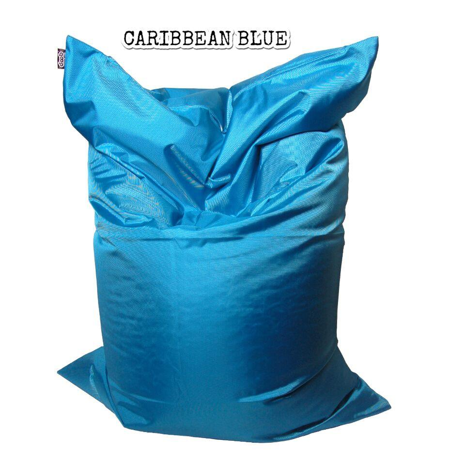 Plopsta' Bean Bag Bean Bags doob® Medium Caribbean Blue Filled