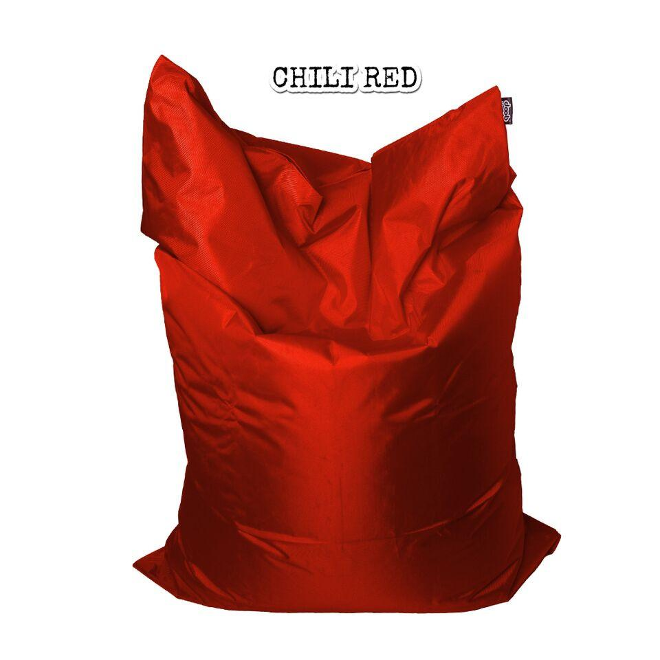 Plopsta' Bean Bag Bean Bags doob® Medium Chili Red Filled