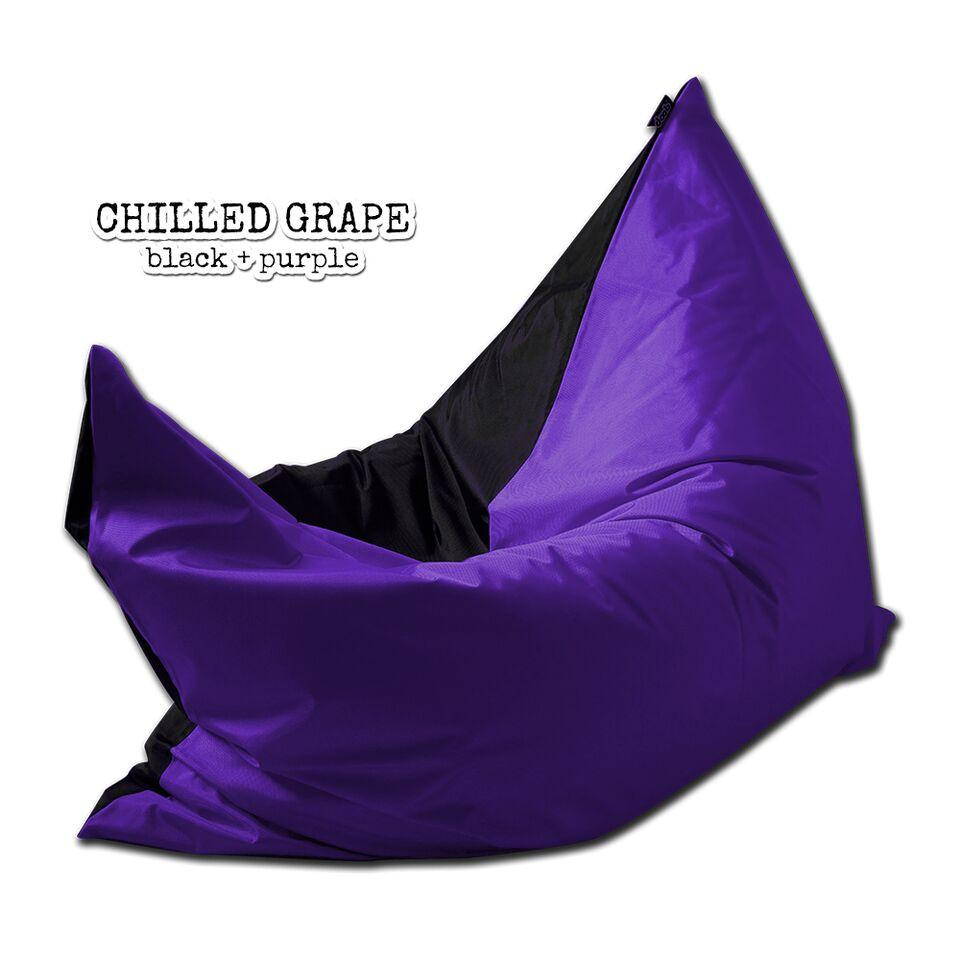 Plopsta' Bean Bag Bean Bags doob® Medium Chilled Grape Filled