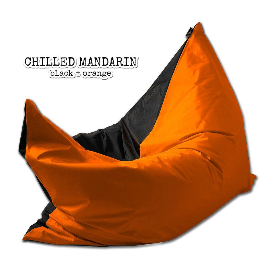 Plopsta' Bean Bag Bean Bags doob® Medium Chilled Mandarin Filled
