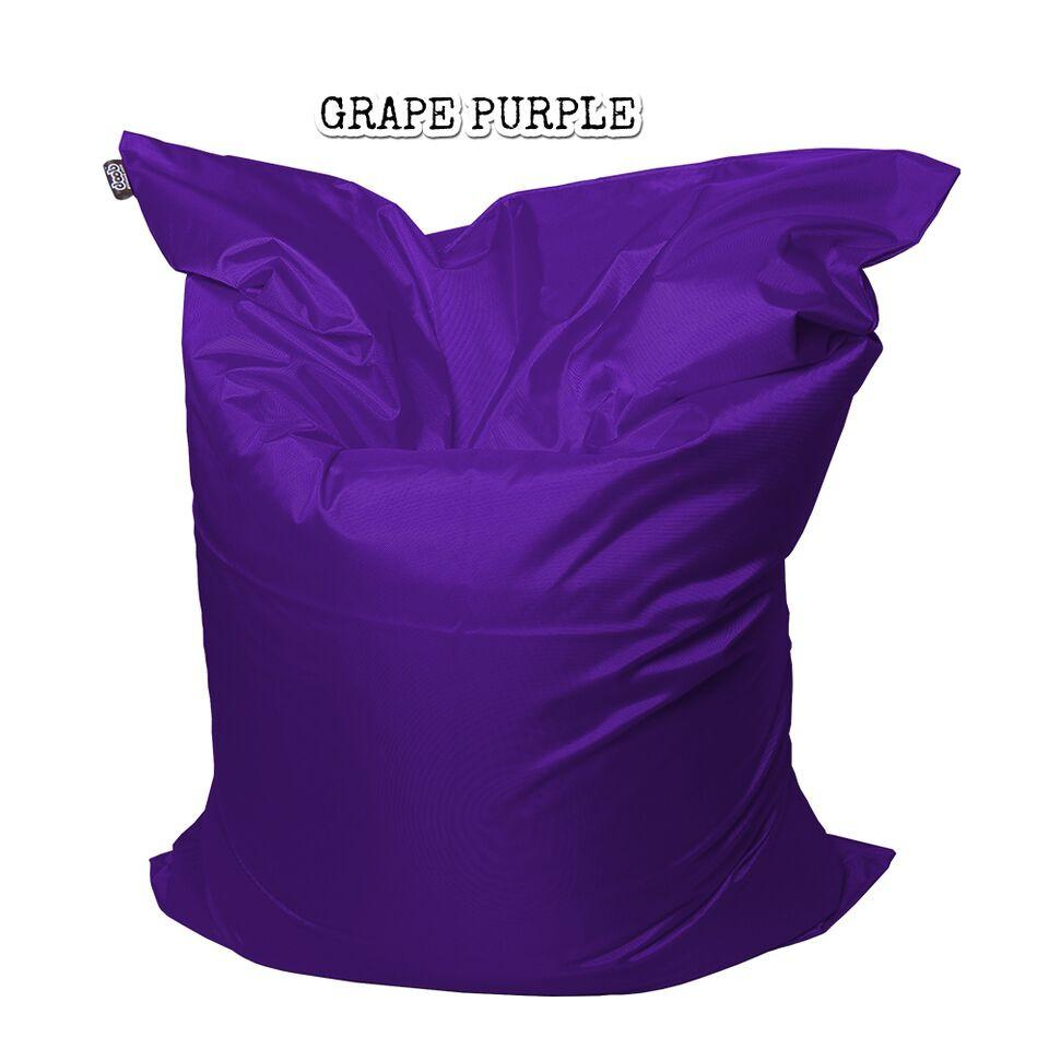 Plopsta' Bean Bag Bean Bags doob® Medium Grape Purple Filled