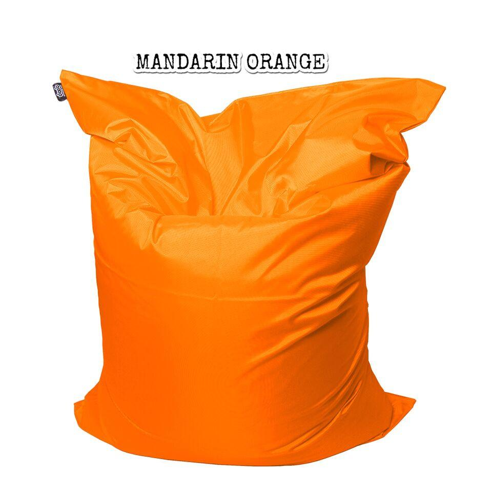 Plopsta' Bean Bag Bean Bags doob® Medium Mandarin Orange Filled