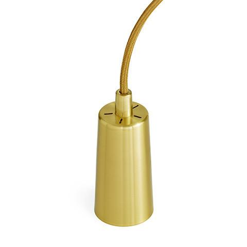 Plumen Drop Cap Pendant Set In Brass Pendant Lighting Plumen