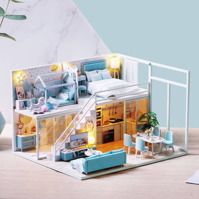 Poetic Life Dollhouse - DIY Crafts - Blue Stone Craft - Naiise