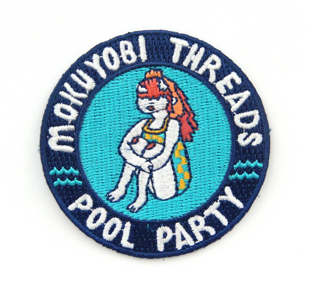 Pool Party Iron On Patch - Iron On Patches - Mokuyobi Threads - Naiise