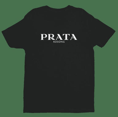 Prata Kosong Crew Neck S-Sleeve T-shirt (Pre-Order) - Local T-shirts - Wet Tee Shirt - Naiise