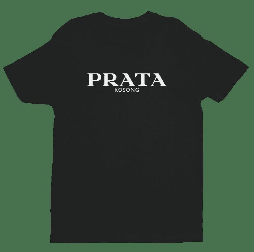 Prata Kosong Crew Neck S-Sleeve T-shirt (Pre-Order) - Local T-shirts - Uncle Ahn T x Wet Tee Shirt - Naiise