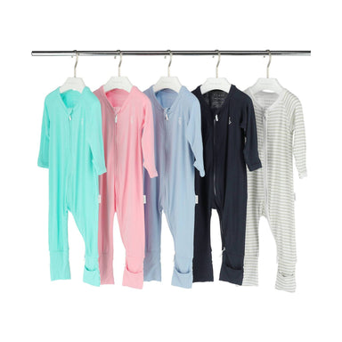 Premium Bamboo Zippie - Baby Night Wear Clothes - Baby Clothing - RAPH&REMY - Naiise