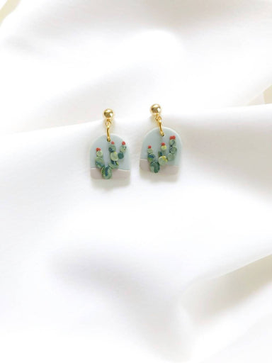 Prickly Pear Earrings - Earrings - Burnt Olives - Naiise