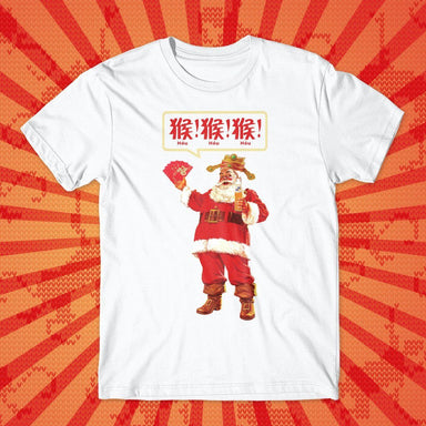 Punny CNY Santa T-shirt - T-shirts - Just Saying Tees - Naiise