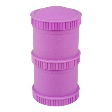 Purple Snack Stack Set Children Cutlery Re-Play