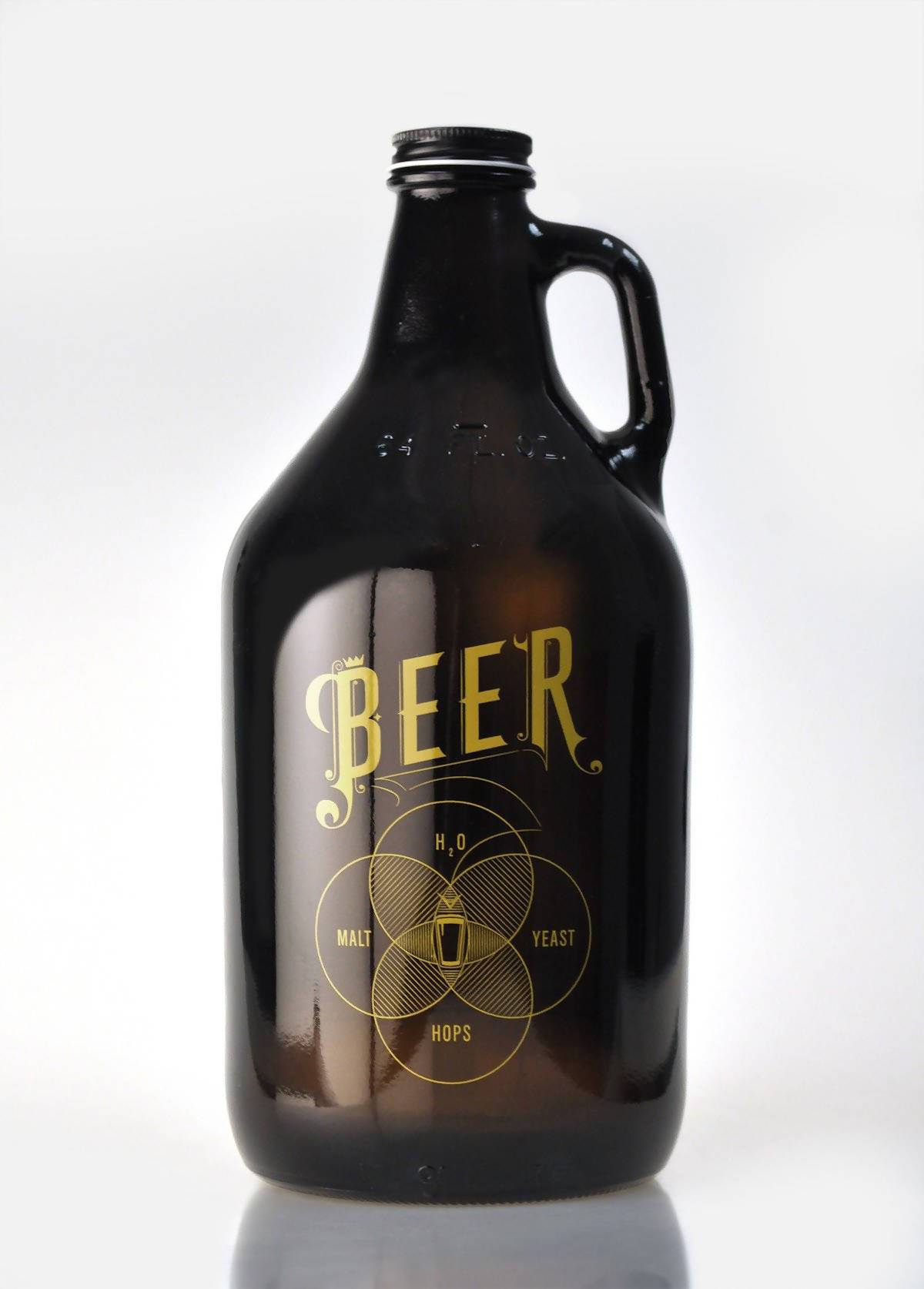 Pop Chart Lab - The Venn of Beer Growler - Beer Growler - The Planet Collection - Naiise