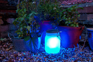 Suck UK - Solar Powered Sun Jar - Blue - Lighting - The Planet Collection - Naiise