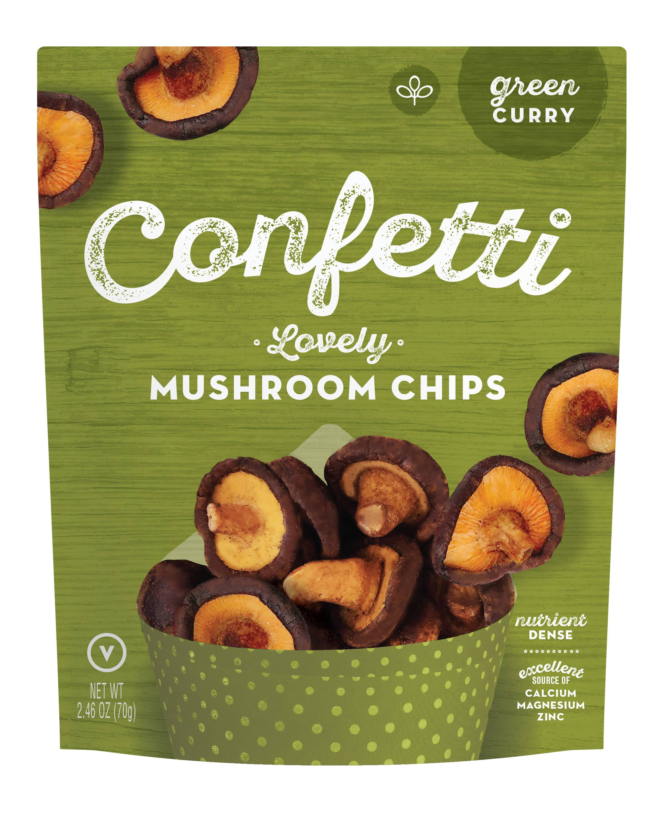 Confetti Snacks - Vegetables/Mushrooms Chips - Snacks - Confetti Snacks - Naiise