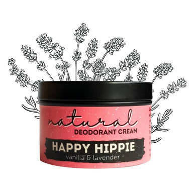 Happy Hippie | Natural Deodorant | Sweet scent | Vanilla & Lavender Deodorants Twisted Dua