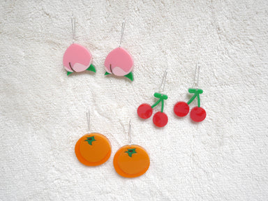 Animal Crossing Fruits Earrings - Earrings - Loopy Fruppy - Naiise