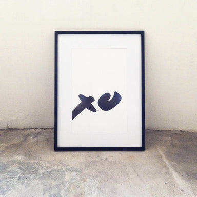 Quiet Noises XO Print - Prints - The Little Talks - Naiise