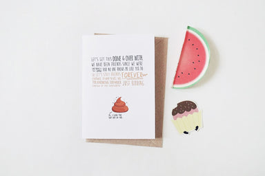 Quirky Best Friend Card - Friendship Cards - TispyTopsy - Naiise