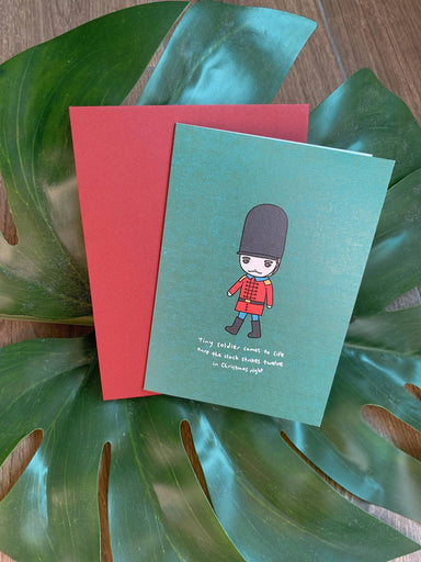 Loop - Tiny Soldier Comes To Life Christmas Card - Christmas Cards - We Are Too Late - Naiise