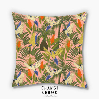 Cushion Cover - Tropical Paradise - Cushion Covers - Changi Chowk - Naiise