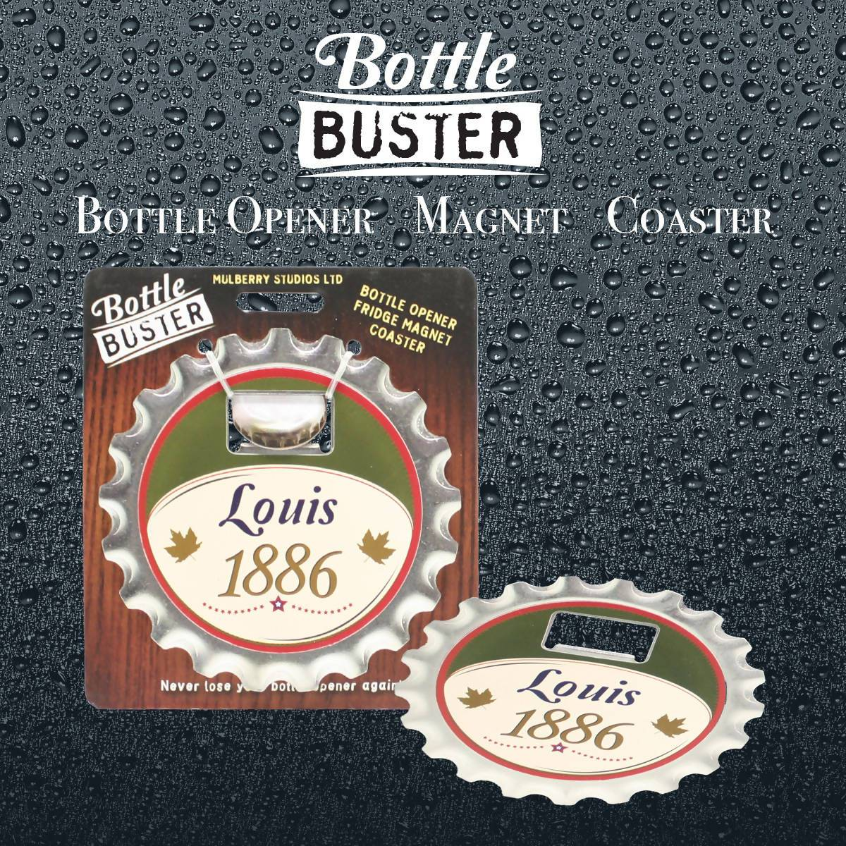 BOTTLE BUSTER - Best Bottle Opener : Louis - Bottle Openers - La Belle Collection - Naiise