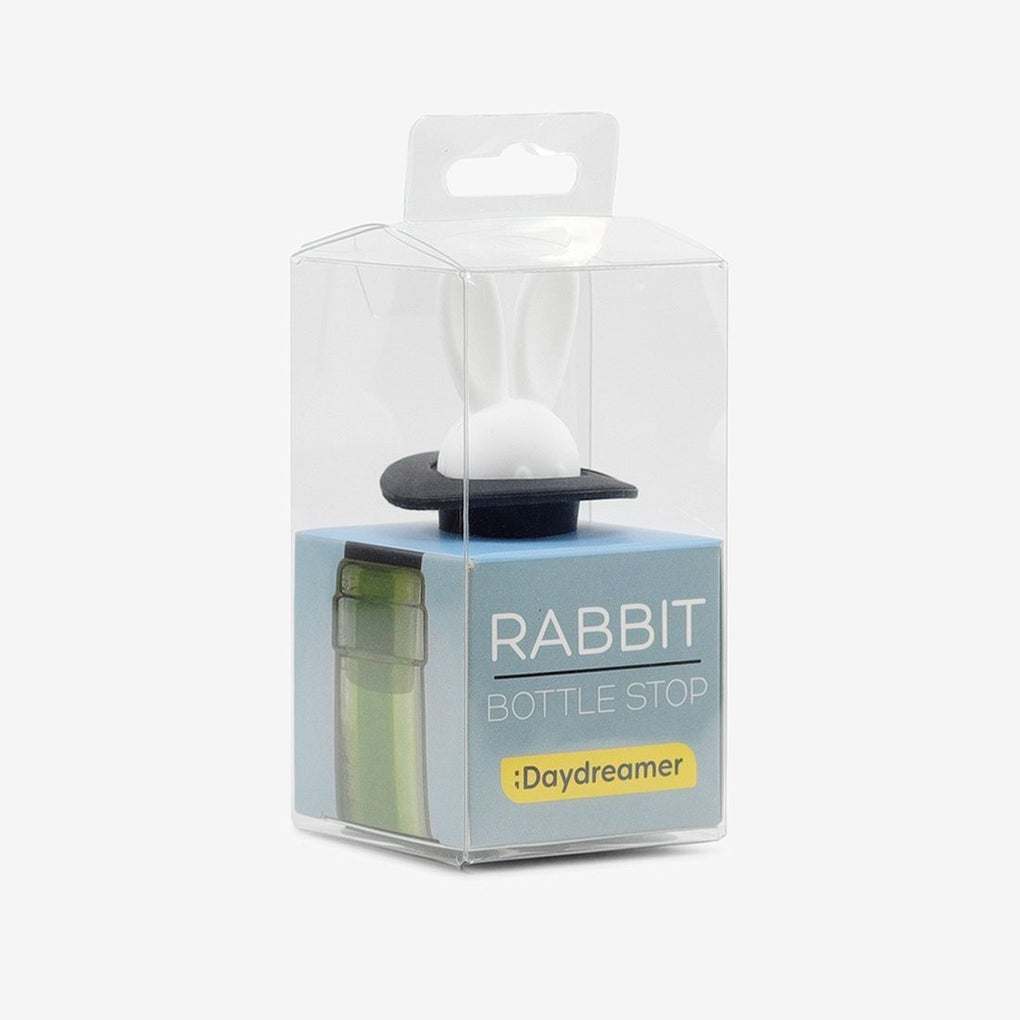 Rabbit Bottle Stop Wine Accessories The Daydreamer Studio