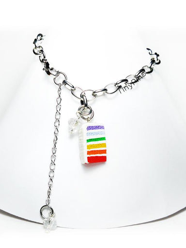 Rainbow Cake Bracelet Local Jewellery TinyPinc Miniatures