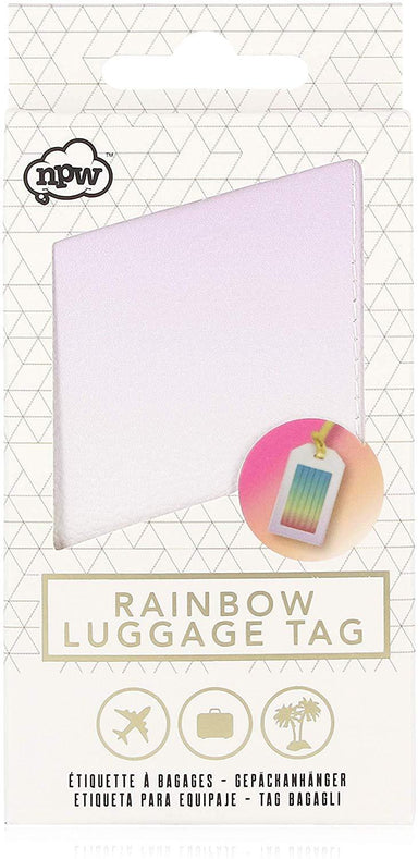Rainbow - Luggage Tag Luggage Tags NPW