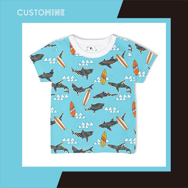 Rainbow Shark Kid's T-shirt (Pre-Order) - Kids Clothing - CUSTOMINE - Naiise