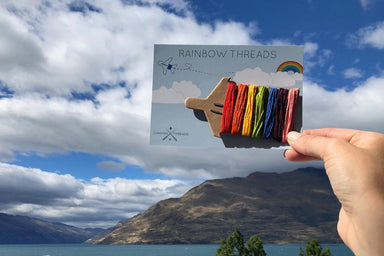 Rainbow Threads - DIY Crafts - Chasing Threads - Naiise