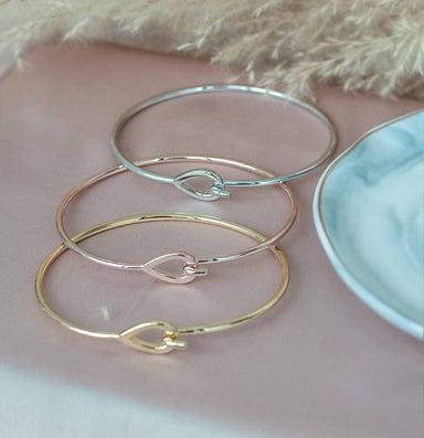 Raindrop Bangle - Bangles - Lady N Jewelry - Naiise