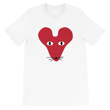 Red Faced Rat Crew Neck S-Sleeve T-shirt (Pre-Order) - Local T-shirts - Wet Tee Shirt - Naiise