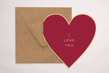 Red Loveheart - Love Cards - YOUNIVERSE DESIGN - Naiise