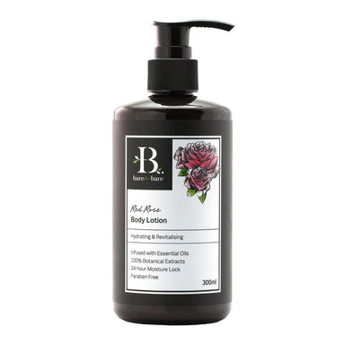 Red Rose Body Lotion Body Lotions Bare for Bare 300ml
