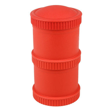 Red Snack Stack Set Children Cutlery Re-Play