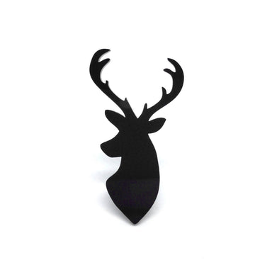 Reindeer Laser Cut Acrylic Brooch Pin - Brooches - Paperdaise Accessories - Naiise