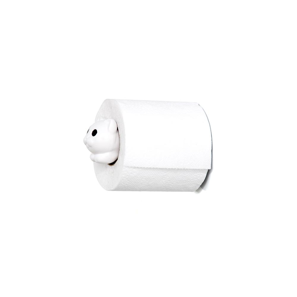 Roll Meo Toilet Paper Holder Bathroom Accessories Qualy