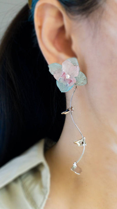 Romance Earrings - Sky Earrings Blaack Fox