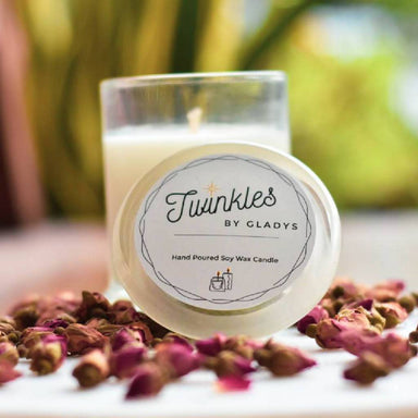 Rose Frankincense Soy Candle - Scented Candles - Twinkles by Gladys - Naiise