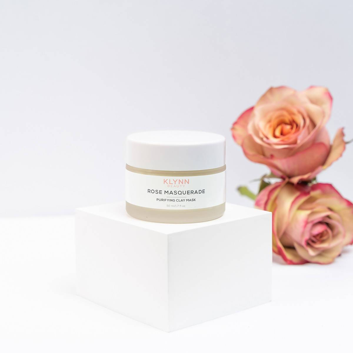 Rose Masquerade Purifying Clay Mask - Face Masks - Klynn Beauty - Naiise