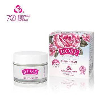 ROSE ORIGINAL Night Cream - Face Moisturisers - Bulgarian Rose Karlovo - Naiise