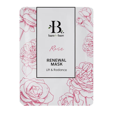 Rose Renewal Face Mask (Single Piece) Face Masks Bare for Bare Single Piece